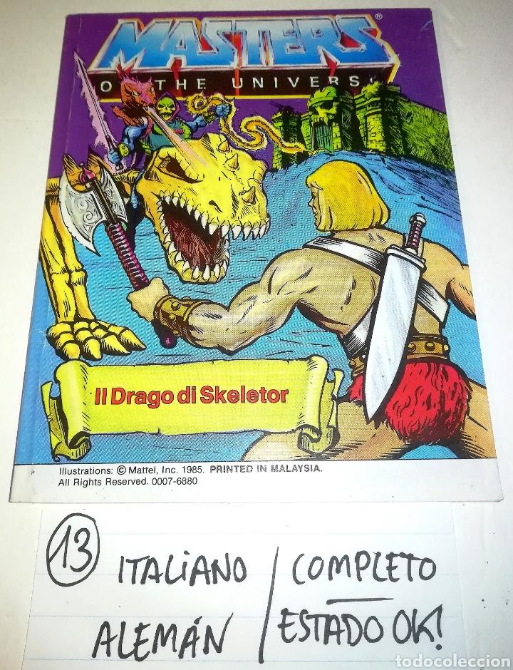 Figuras Masters del Universo: Mini comic masters universo motu minicomic libreto he-man skeletor 13 - Foto 2 - 160895702