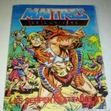 Figuras Masters del Universo: MINI COMIC MASTERS UNIVERSO MOTU MINICOMIC LIBRETO HE-MAN SKELETOR 14. Lote 160895768