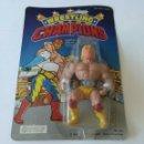 Figuras Masters del Universo: ANTIGUA FIGURA VINTAGE DE ACCIÓN WRESTLING CHAMPIONS AÑO 1986 MOTU BOOTLEG.. Lote 161212573