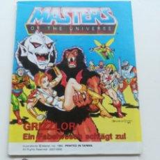 Figuras Masters del Universo: MINI COMIC MASTERS UNIVERSO MOTU MINICOMIC LIBRETO HE-MAN SKELETOR 16. Lote 161395392
