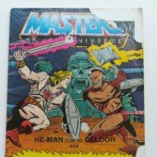 Figuras Masters del Universo: MINI COMIC MASTERS UNIVERSO MOTU MINICOMIC LIBRETO HE-MAN SKELETOR 17. Lote 161396898