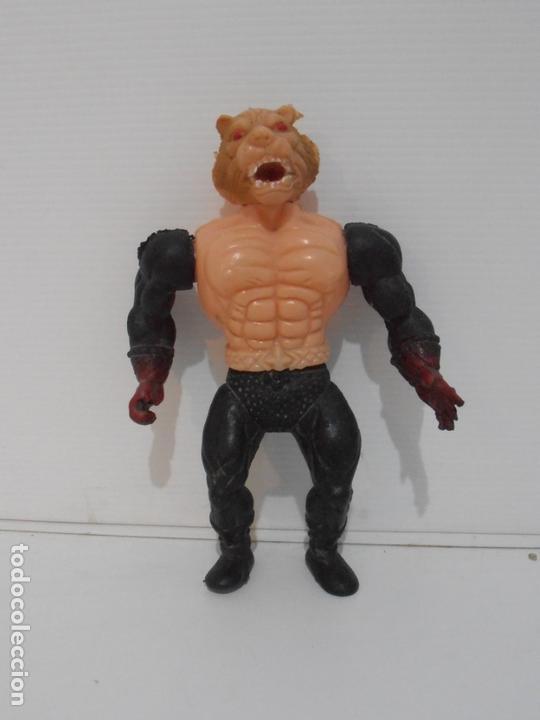 BOOTLEG HOMBRE LEON BRAZOS NEGROS HEMAN MASTERS DE UNIVERSO HE-MAN MOTU (Juguetes - Figuras de Acción - Master del Universo)