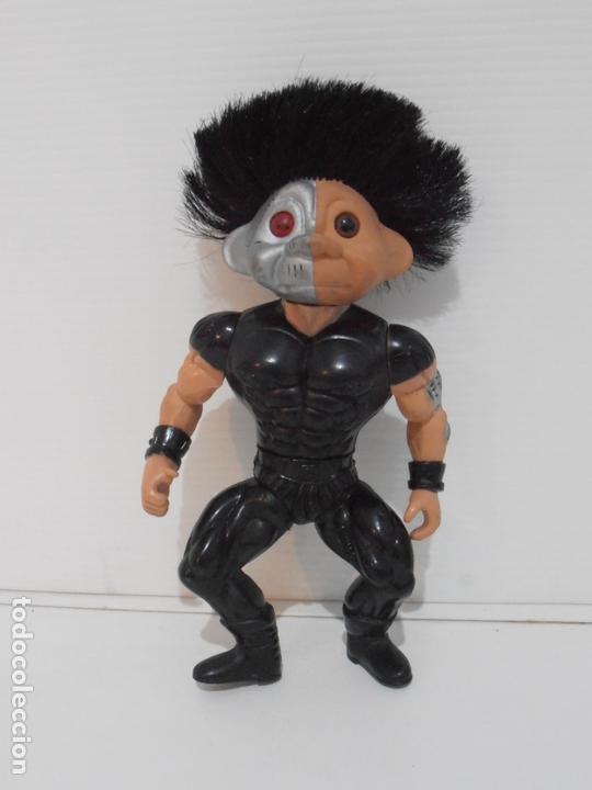 BOOTLEG HOMBRE CABEZA TROLL HEMAN MASTERS DE UNIVERSO HE-MAN MOTU, MUY RARO (Juguetes - Figuras de Acción - Master del Universo)