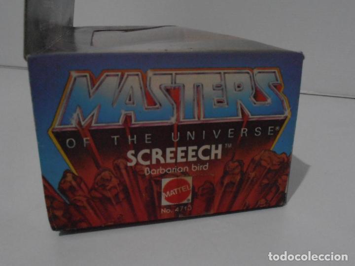 Figuras Masters del Universo: FIGURA MASTERS DEL UNIVERSO VINTAGE, SCREECH, CAJA SIN ABRIR, MOTU, MATTEL - Foto 7 - 166036850