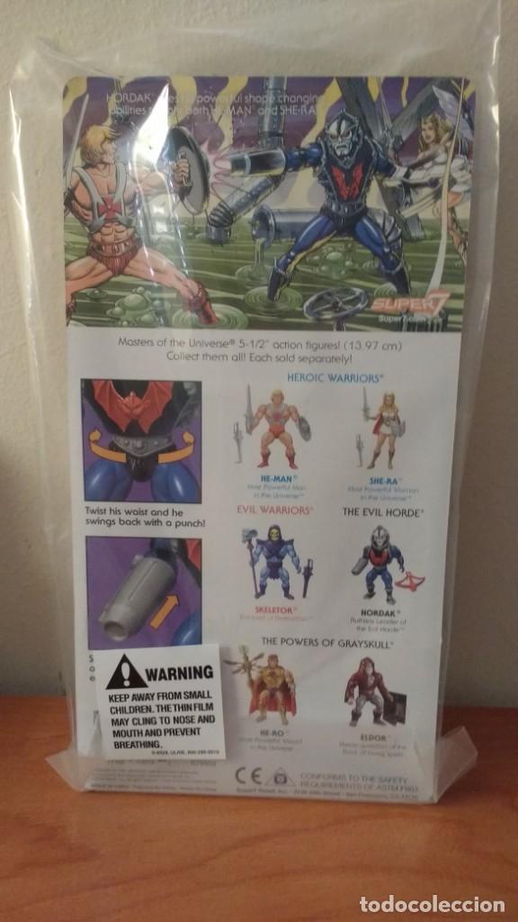Figuras Masters del Universo: HORDAK MOTU MASTERS UNIVERSE SUPER7 MASTERS DEL UNIVERSO NEW WAVE SUPER 7 - Foto 2 - 156000250