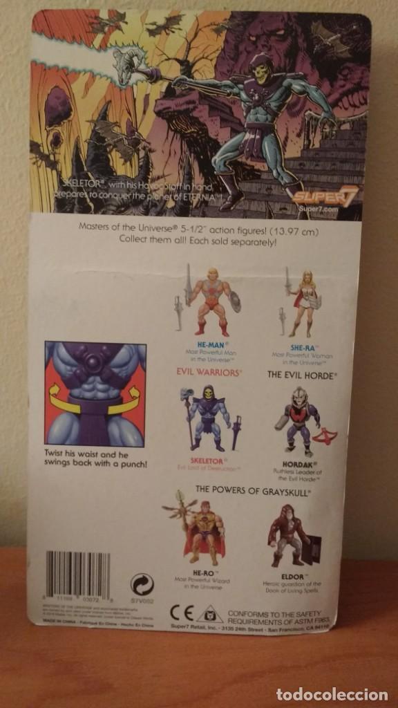 Figuras Masters del Universo: SKELETOR MOTU MASTERS UNIVERSE SUPER7 MASTERS DEL UNIVERSO NEW WAVE SUPER 7 - Foto 3 - 168194117