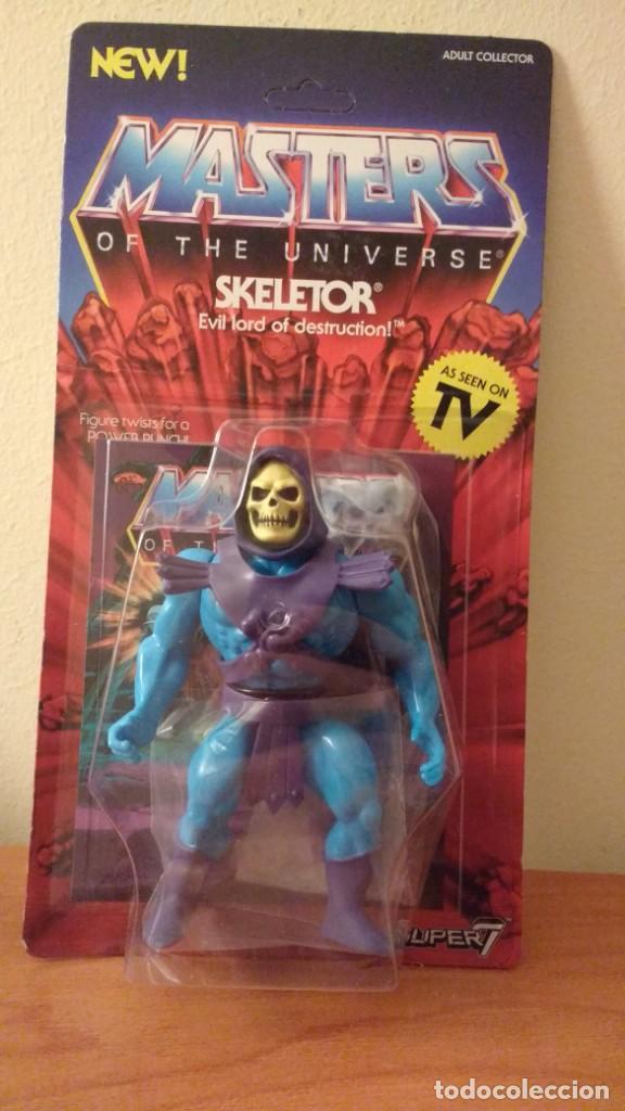 SKELETOR MOTU MASTERS UNIVERSE SUPER7 MASTERS DEL UNIVERSO NEW WAVE SUPER 7 (Juguetes - Figuras de Acción - Master del Universo)