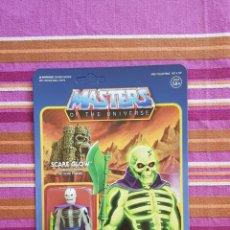 Figuras Masters del Universo: SCARE-GLOW SCARE GLOW MASTERS DEL UNIVERSO MOTU REACTION SUPER 7 SUPER7 EN BLISTER NEW. Lote 198879675
