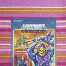 Figuras Masters del Universo: SKELETOR REACTION WAVE1 SUPER7 NEW MASTERS DEL UNIVERSO HE-MAN MOTU. Lote 149478758