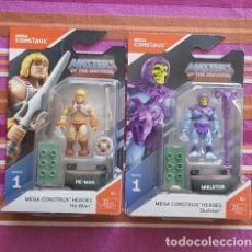 Figuras Masters del Universo: MEGA CONSTRUX MOTU HE-MAN + SKELETOR MASTERS DEL UNIVERSO NEW. Lote 148459866