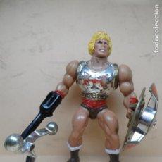 Figuras Masters del Universo: MOTU HE-MAN PUÑO BOLEADOR (FLYING FISTS) 1985 MATTEL COMPLETO. Lote 170300840