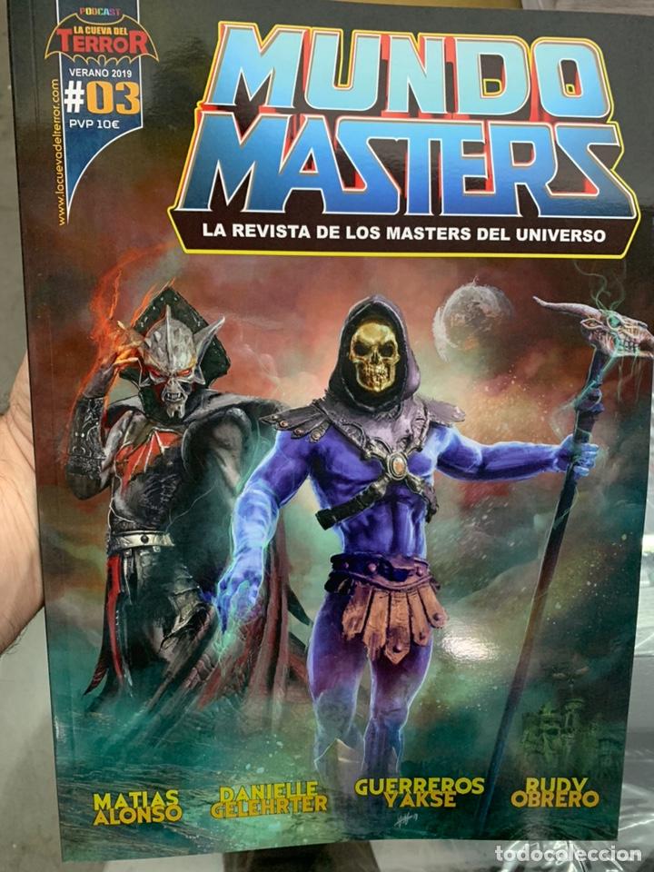 REVISTA MUNDO MASTERS 3 MASTERS DEL UNIVERSO HE-MAN SKELETOR (Juguetes - Figuras de Acción - Master del Universo)
