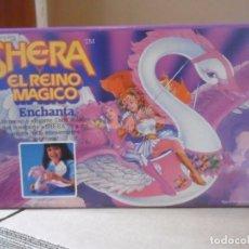 Figuras Masters del Universo: SHERA SHE-RA EL REINO MAGICO ENCHANTA EL CISNE VOLADOR MATTEL 1986. Lote 172364140