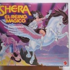 Figuras Masters del Universo: SHERA SHE-RA EL REINO MAGICO TORMENTA CABALLO DE CATRA MATTEL 1986. Lote 172364340