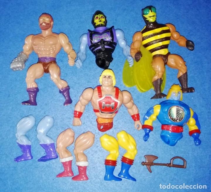 MASTERS DEL UNIVERSO MOTU MATTEL LOTE AÑOS 80 (Juguetes - Figuras de Acción - Master del Universo)