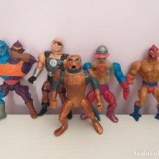 Figuras Masters del Universo: LOTE 5 MASTERS DEL UNIVERSO HE-MAN MOTU BLADE SAUROD ROBOTO TWO BAD CLAWFUL. Lote 173891622