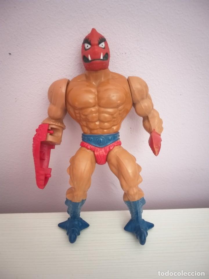 Figuras Masters del Universo: lote 5 masters del universo he-man motu blade saurod roboto two bad clawful - Foto 9 - 173891622