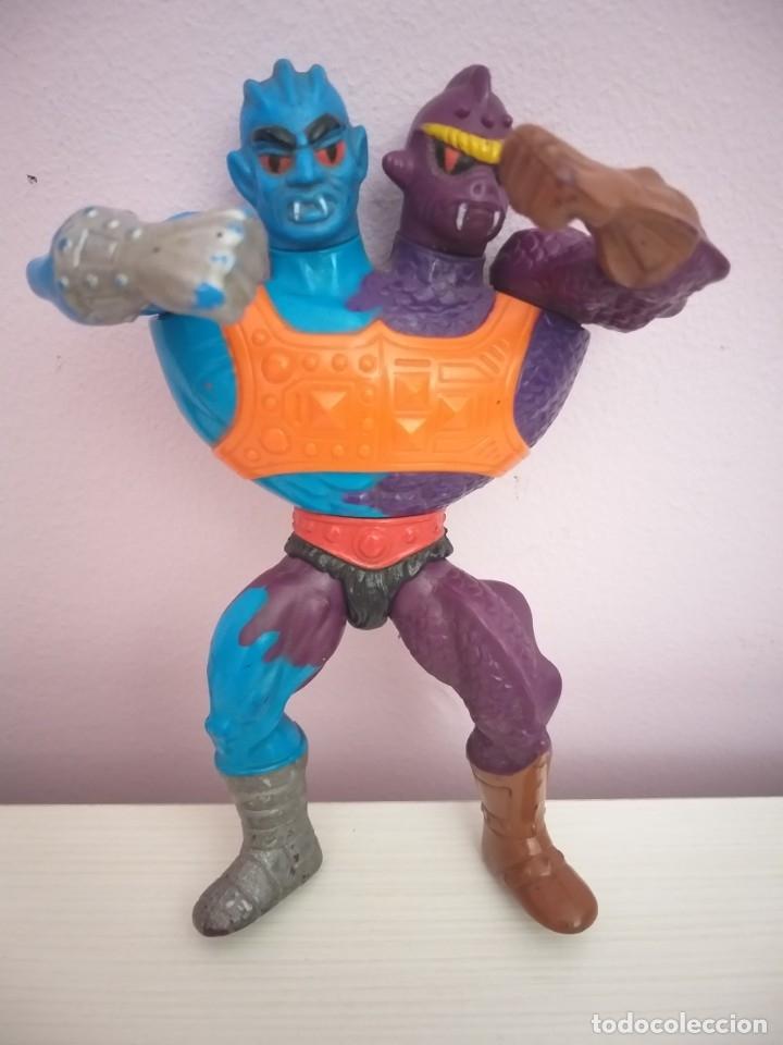 Figuras Masters del Universo: lote 5 masters del universo he-man motu blade saurod roboto two bad clawful - Foto 13 - 173891622