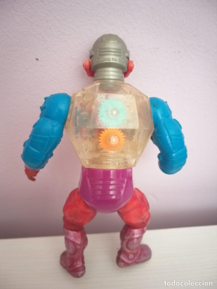 Figuras Masters del Universo: lote 5 masters del universo he-man motu blade saurod roboto two bad clawful - Foto 18 - 173891622