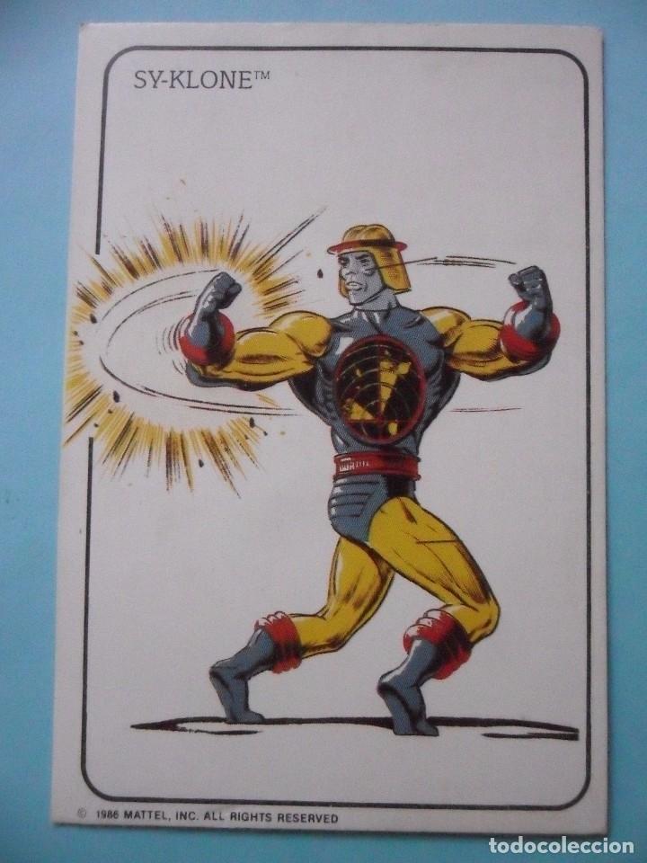MOTU MASTERS OF THE UNIVERSE CALENDARIO MATTEL 1986 (Juguetes - Figuras de Acción - Master del Universo)
