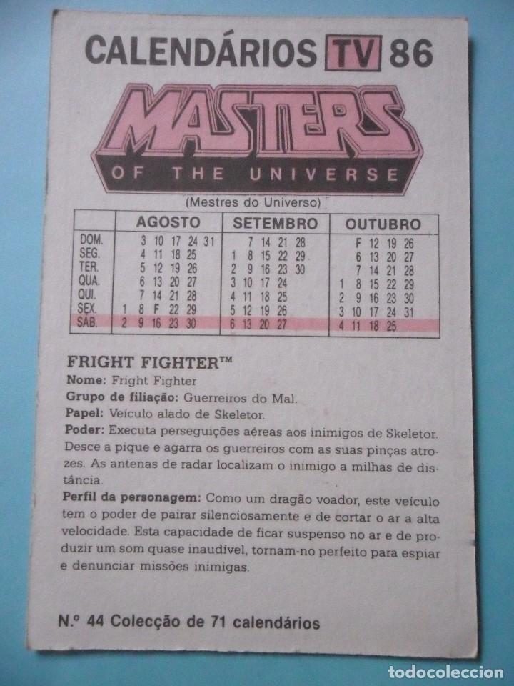 Figuras Masters del Universo: MOTU MASTERS OF THE UNIVERSE CALENDARIO MATTEL 1986 - Foto 2 - 174094479