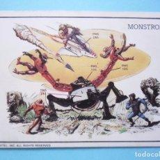 Figuras Masters del Universo: MOTU MASTERS OF THE UNIVERSE CALENDARIO MATTEL 1986. Lote 174094514
