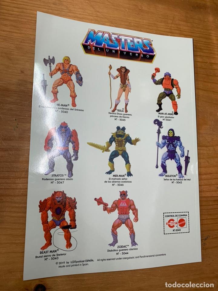 Figuras Masters del Universo: Revista mundo masters 2 - masters del universo -he-man skeletor - Foto 2 - 174462123