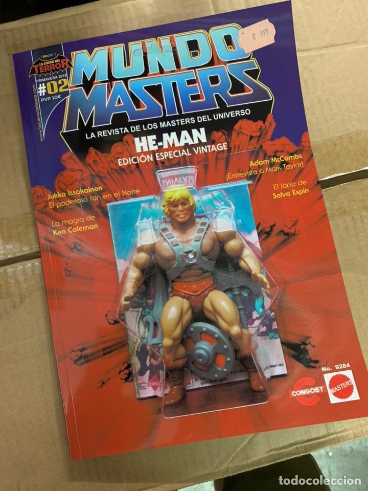 REVISTA MUNDO MASTERS 2 - MASTERS DEL UNIVERSO -HE-MAN SKELETOR (Juguetes - Figuras de Acción - Master del Universo)