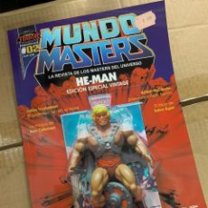Figuras Masters del Universo: REVISTA MUNDO MASTERS 2 - MASTERS DEL UNIVERSO -HE-MAN SKELETOR. Lote 174462123