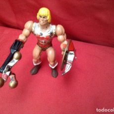 Figuras Masters del Universo: HE- MAN PUÑO BOLEADOR COMPLETO MATTEL 1985. Lote 174833829