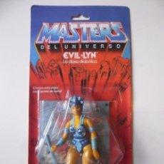 Figuras Masters del Universo: MOTU MASTERS DEL UNIVERSO EVIL LYN BLISTER ESPAÑOL MATTEL 1986. Lote 175562623