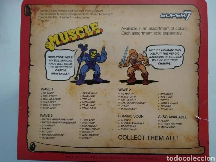 Figuras Masters del Universo: Pack 4 figuras ´MUSCLE´ Wind Raider, He-Man, nave Roton Skeletor masters of universe super7 - Foto 4 - 176180040