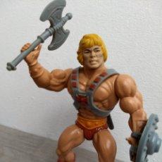 Figuras Masters del Universo: HE-MAN - 100% COMPLETO MOTU MASTERS DEL UNIVERSO HE-MAN MATTEL. Lote 176432230