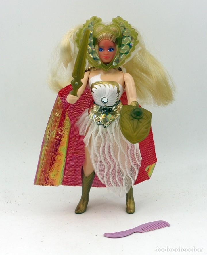 FIGURA DE SHE RA, PRINCESA DEL PODER - COMPLETA - EL REINO MAGICO - 1984 - MASTERS DEL UNIVERSO (Juguetes - Figuras de Acción - Master del Universo)