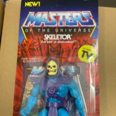 Figuras Masters del Universo: SKELETOR MASTERS DE UNIVERSO VINTAGE WAVE 1 SUPER7. Lote 177342033