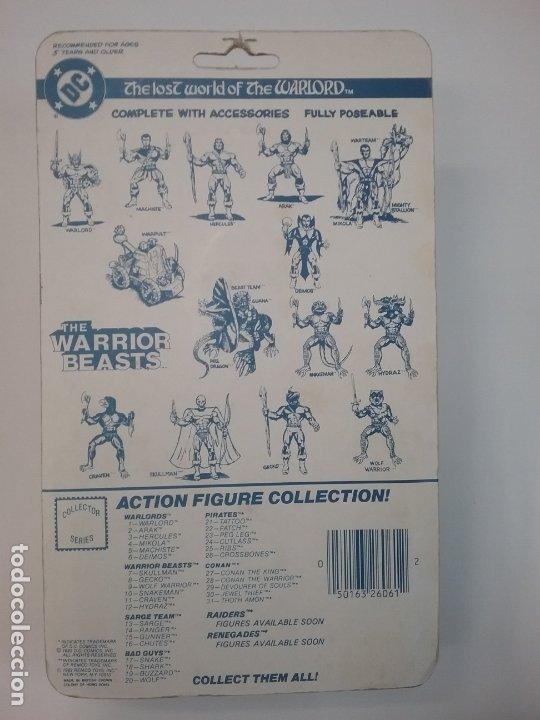 Figuras Masters del Universo: THE LOST WORLD OF WARLORD - REMCO - 1982 - WARLORD - Foto 4 - 178808547