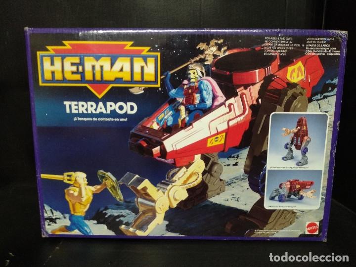 HE MAN TERRAPOD NAVE ESPACIAL MATTEL 1990 (Juguetes - Figuras de Acción - Master del Universo)