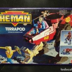 Figuras Masters del Universo: HE MAN TERRAPOD NAVE ESPACIAL MATTEL 1990. Lote 175992634