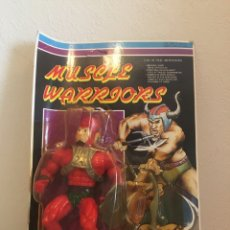 """Figuras Masters del Universo: MUSCLER WARRIORS BLISTER. BOOTLEG""""THOR""""MÁSTER DEL UNIVERSO. Lote 180166792"""