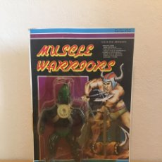 Figuras Masters del Universo: BOOTLEG. BLISTER. MUSCLE WARRIORS,MÁSTER DEL UNIVERSO,SPIKES BOOTLEG. Lote 180172396