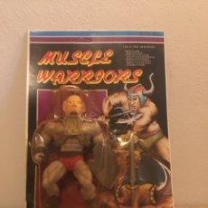"Figuras Masters del Universo: BOOTLEG,MUSCLE WARRIORS""BLISTER.RARO DE VER BALTARD"",MÁSTER DEL UNIVERSO. Lote 188551648"