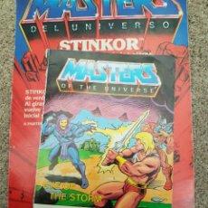 Figuras Masters del Universo: MINICOMIC MASTERS DEL UNIVERSO MOTU HEMAN MATTEL HEMAN MOTU. Lote 180480848