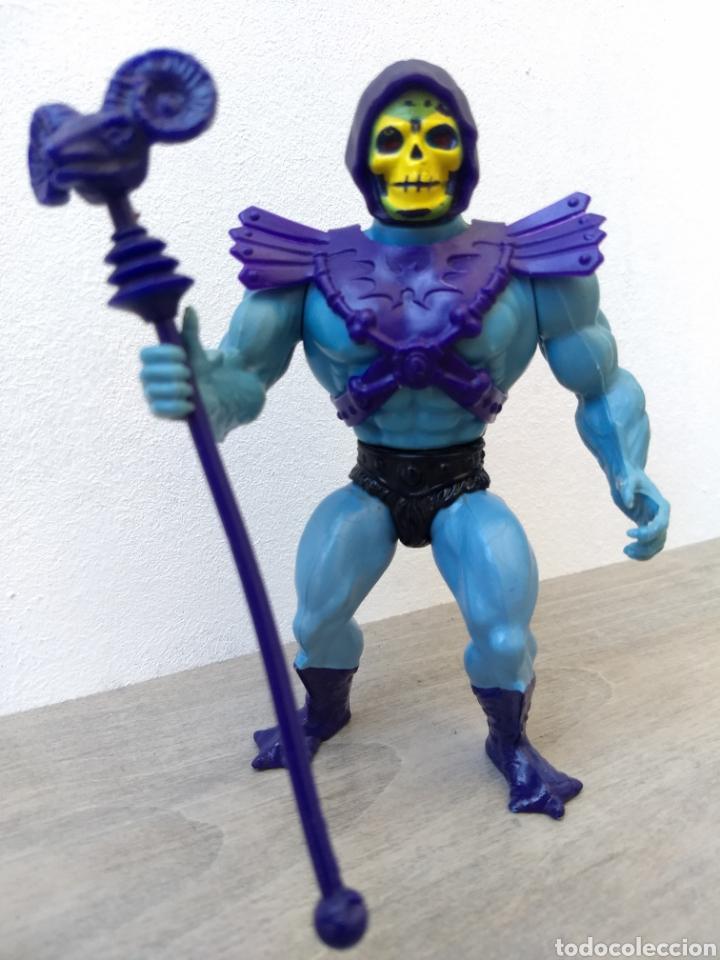 SKELETOR TAIWÁN - MOTU MASTERS DEL UNIVERSO HEMAN HE-MAN MATTEL (Juguetes - Figuras de Acción - Master del Universo)