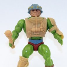 Figurines Maîtres de l'Univers: MAN AT ARMS - 1º SERIE - MATTEL 1981 - CONGOST - COMPLETO - MASTERS UNIVERSO MOTU HEMAN. Lote 204746685