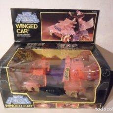 Figuras Masters del Universo: TEK FORCE WINGED CAR MOTU SHERA BOOTLEG CATEC INDUSTRIAL TOYS 1985. Lote 182038301