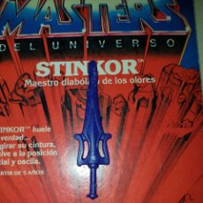 Figuras Masters del Universo: ESPADA TAIWAN SKELETOR MASTERS DEL UNIVERSO MOTU HEMAN MATTEL. Lote 182909478