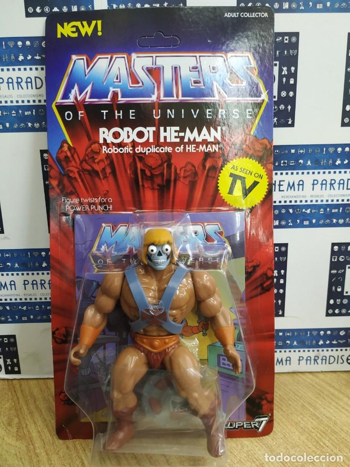 MASTERS OF THE UNIVERSE (ROBOT HE-MAN). (Juguetes - Figuras de Acción - Master del Universo)