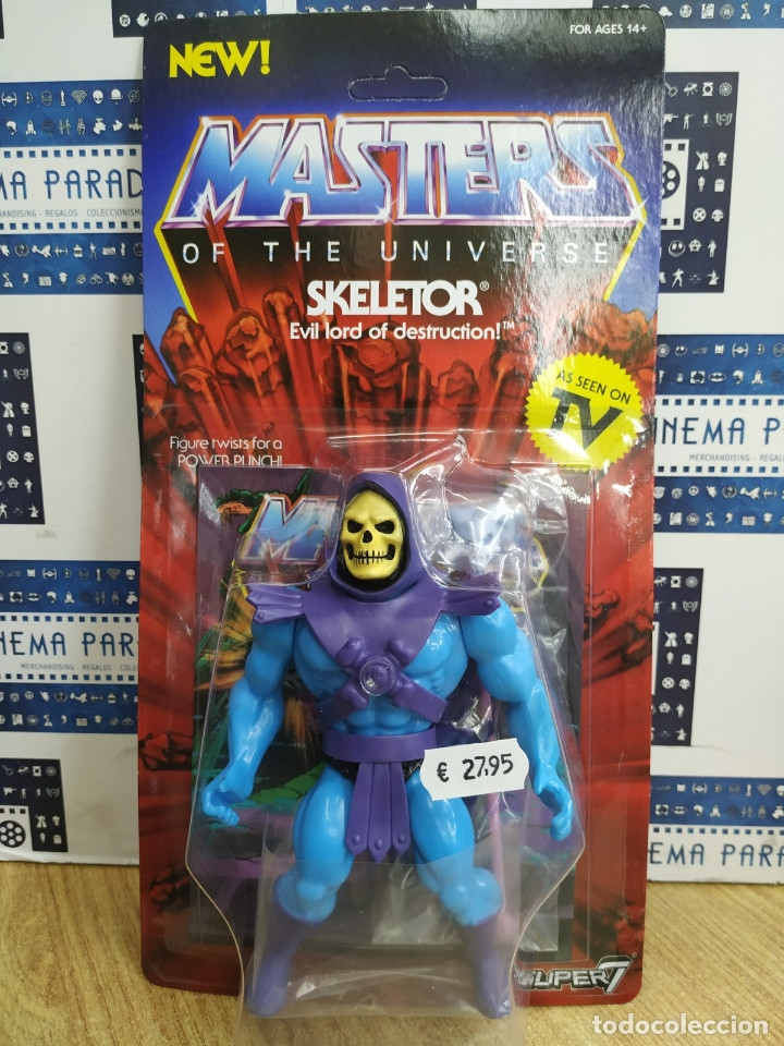 MASTERS OF THE UNIVERSE ( SKELETOR). (Juguetes - Figuras de Acción - Master del Universo)