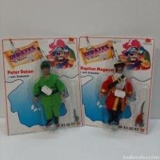 Figuras Masters del Universo: PETER PAN Y GARFIO BOOTLEG. Lote 183589590