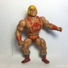 Figure Masters del Universo: FIGURA HE-MAN THUNDER PUNCH DE MASTERS DE UNIVERSO 1984 SPAIN MATTEL. Lote 183724171